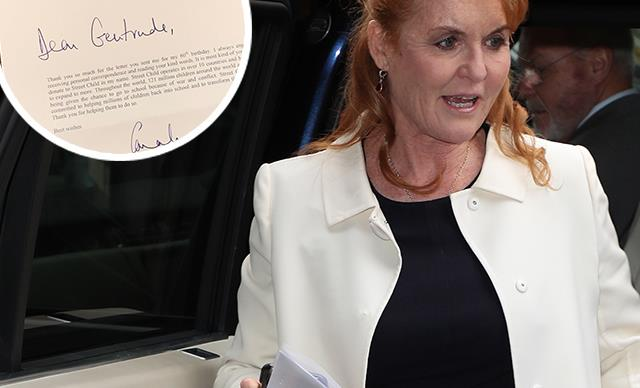 Sarah Ferguson just sent personal letters to fans amid Prince Andrew scandal