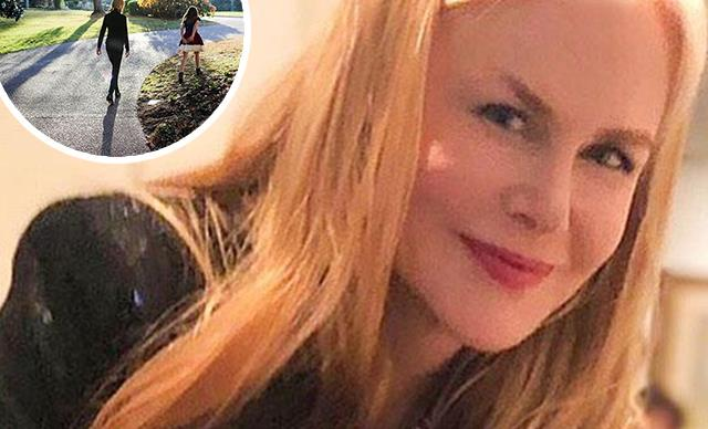 Nicole Kidman shares a beautiful and rare photo of her daughter, Sunday Rose