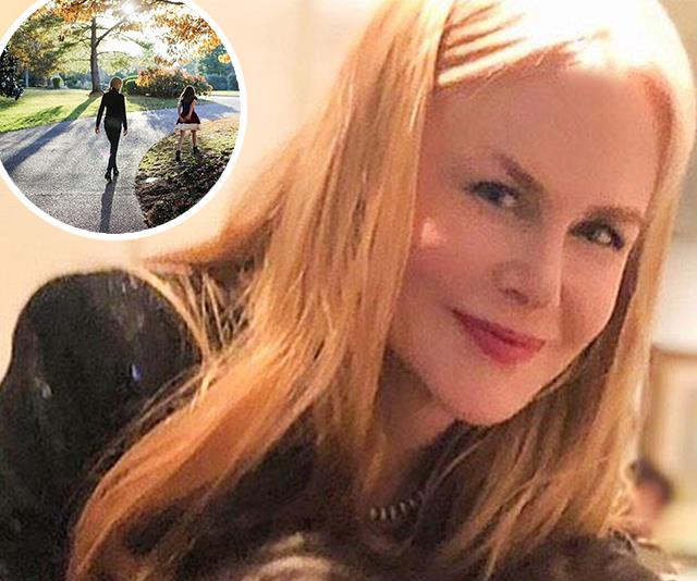 Nicole Kidman shares a beautiful and rare photo of her daughter, Sunday Rose