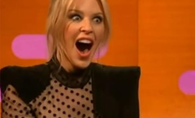 The Prince Andrew joke that left Kylie Minogue speechless