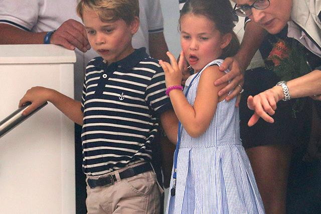 Prince William reveals that Prince George and Princess Charlotte argue like regular siblings