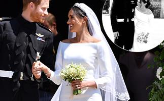 Prince Harry and Duchess Meghan share unseen wedding picture to mark their engagement anniversary