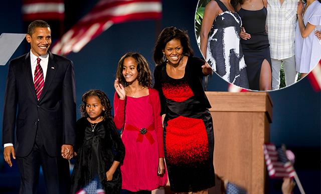 The Obama daughters are all grown up in unseen family photo shared by Michelle Obama