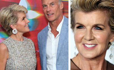 Aussie politics icon Julie Bishop casually just wore two completely different (and heavenly!) red carpet dresses within 24 hours