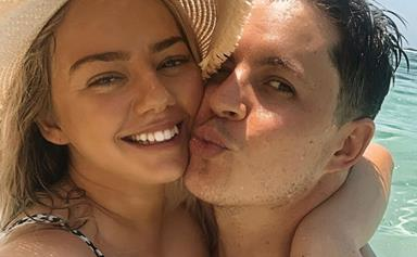 EXCLUSIVE: Johnny Ruffo reveals the secret to happiness with long-term girlfriend Tahnee Simms