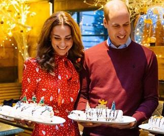Kate & Wills embark on a Christmas royal first - and they're baking up a storm for it!