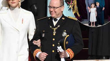 Prince Albert and Princess Charlene of Monaco share new official royal portrait