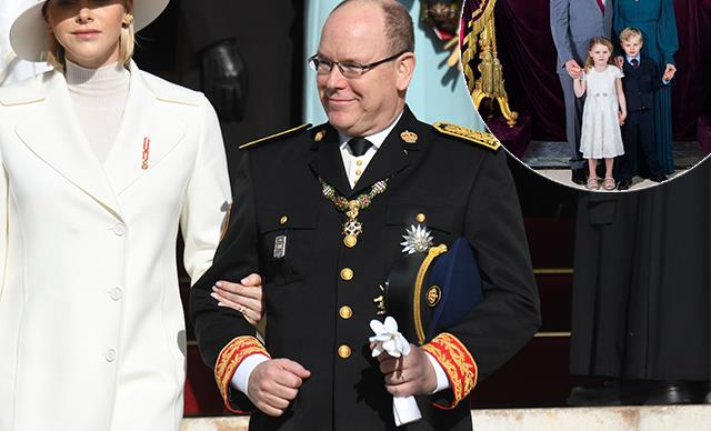 Prince Albert and Princess Charlene of Monaco share new official royal portrait