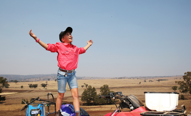 The inspiring story of how one woman went from drought hero to social media star