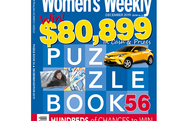 The Australian Women's Weekly Puzzle Book Issue 56