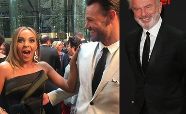 EXCLUSIVE: Angie Kent's X-rated comment after seeing Sam Neill had boyfriend Carlin doing a double take