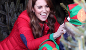 Duchess Catherine steps out in glorious Christmas colours as her very special new role is revealed