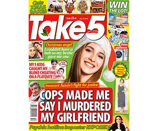 Take 5 Issue 50 Online Entry Coupon