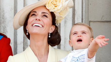 Duchess Catherine revealed Prince Louis is becoming an adorably clingy toddler and won't leave her side!