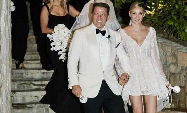 Karl Stefanovic and Jasmine Yarbrough share new photos to celebrate their first wedding anniversary