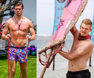 Love Island's Matthew Zukowski and Survivor's Matty Wahlberg are going head to head in a wrestling match