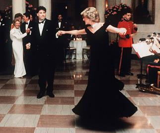 Princess Diana's iconic 'John Travolta dress' fails to sell at charity auction