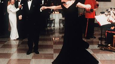 Princess Diana's iconic 'John Travolta dress' fails to sell at charity auction