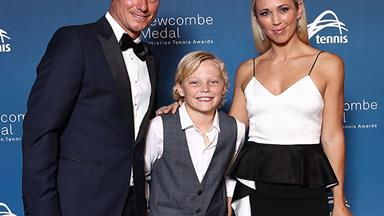 Lleyton and Bec Hewitt share adorable throwback photos to celebrate son Cruz's birthday
