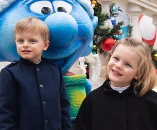 Monaco's royal twins steal the show as they celebrate their fifth birthday with a Palace bash