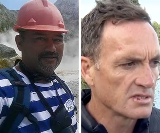 Meet the volcano disaster heroes who charged back into the crater to save others