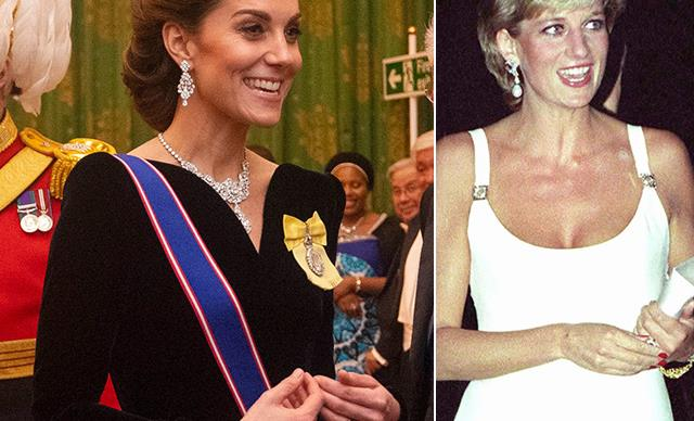 Kate Middleton's latest outfit channelled one of Diana's most iconic looks without us even noticing
