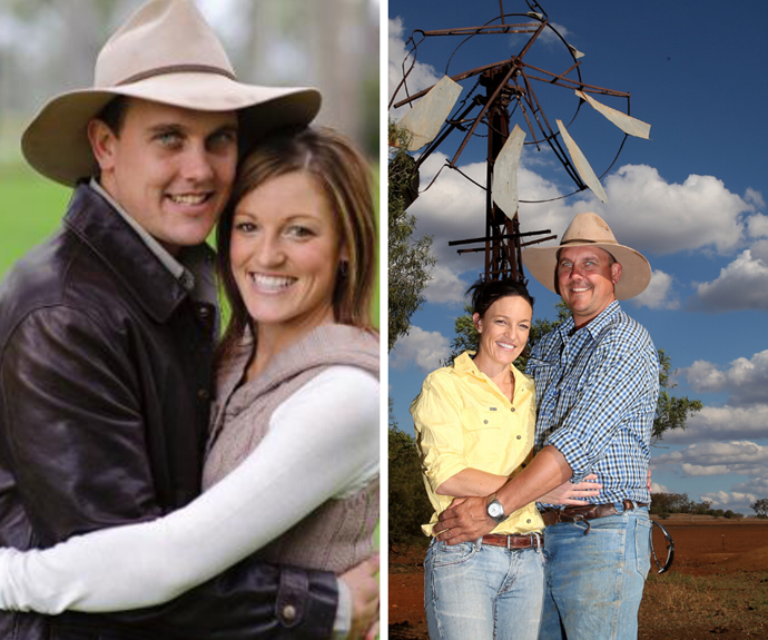 A drought, 3 kids, & 10 years of love! Here's what Farmer Wants A Wife's Brad and Stacie are up to now