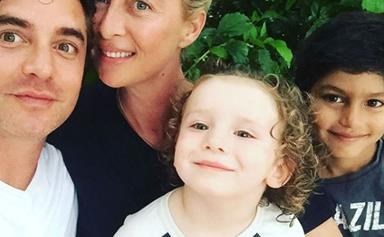 Vincent Fantauzzo on creating a magical new Christmas mural and celebrating the festive season with Asher Keddie and their boys