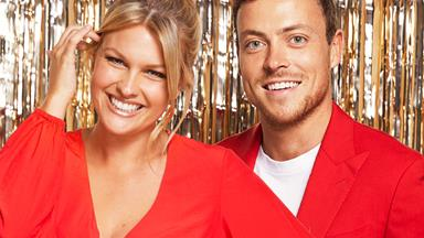 Home and Away's Sophie Dillman and Patrick O'Connor share their big plans for Christmas