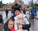 Fifi Box's trip to Disneyland with Trixie and Daisy is family holiday goals