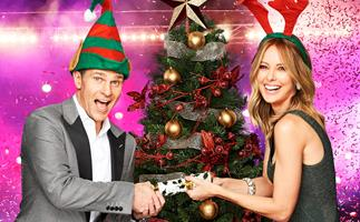 Allison Langdon and David Campbell host Nine's Carols By Candlelight 2019