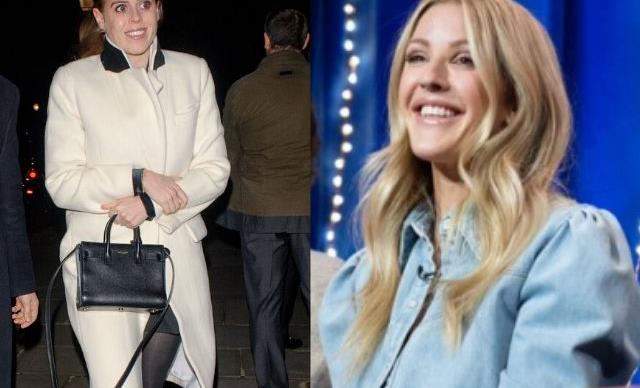 Princess Beatrice wrote Ellie Goulding some song lyrics via text- and they were exposed on TV!