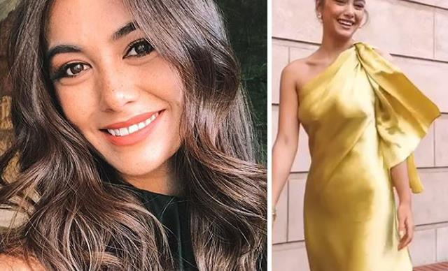 The brand new E! Australia host Francesca Hung gets red carpet ready with this one genius hack