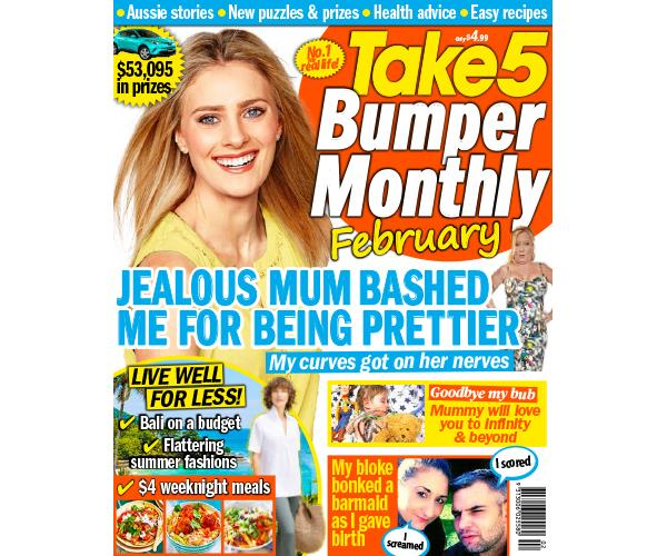 Take 5 Bumper Monthly February Issue Online Entry