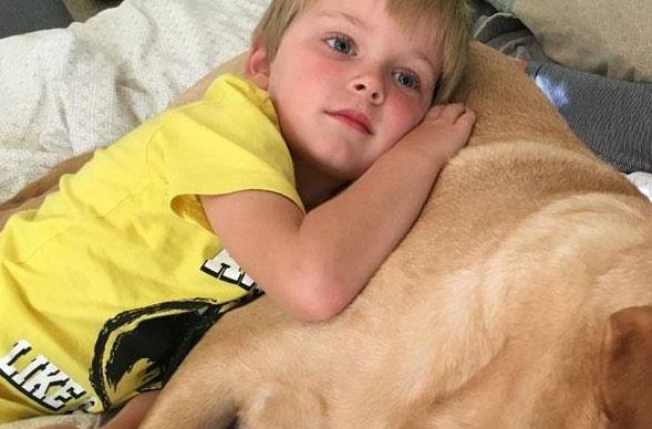 FIRST PERSON: How a dog changed my autistic son's life