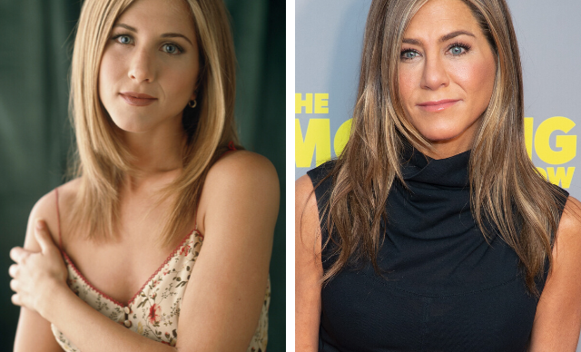 Jennifer Aniston's plastic surgery transformation