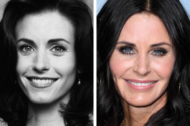 Courteney Cox's plastic surgery transformation