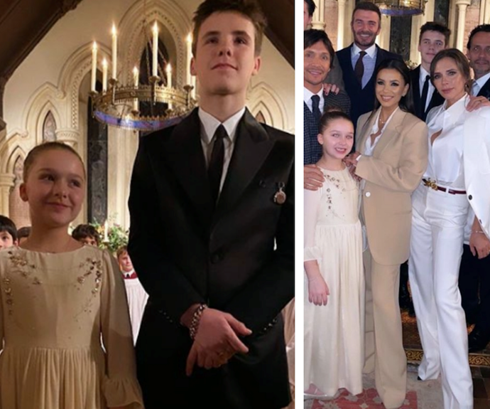 Victoria Beckham shares stunning new photos from her children's baptism