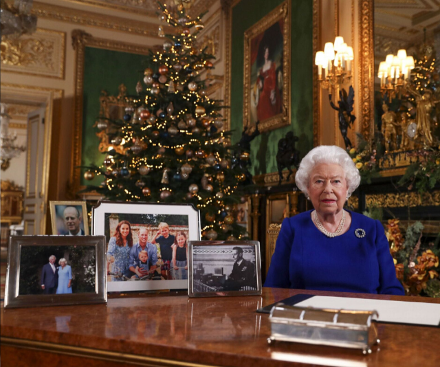 "The Queen reflected on her ""bumpy"" year in her Christmas speech."