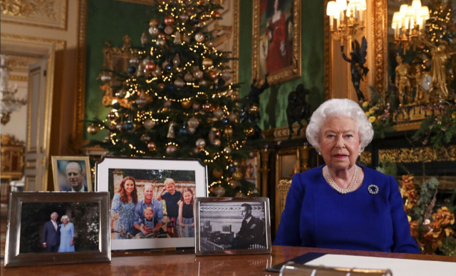 "The Queen addresses her ""bumpy"" year in her 2019 Christmas speech"
