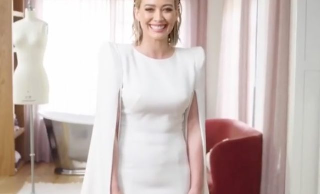 Hilary Duff's wedding dress had a royally good connection to Duchess Catherine