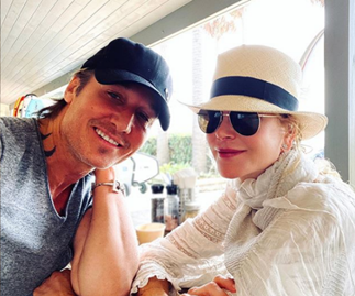 Nicole Kidman and Keith Urban are having a loved-up Christmas in Australia