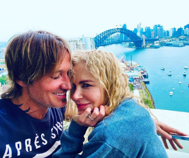 Nicole Kidman and Keith Urban share loved-up snaps following their Sydney Christmas
