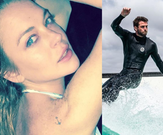 Lindsay Lohan caught Insta-flirting with Liam Hemsworth and the internet has lost it