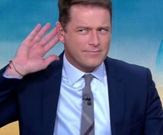 Karl Stefanovic's famous friends left some very cheeky comments on his pregnancy announcement photo