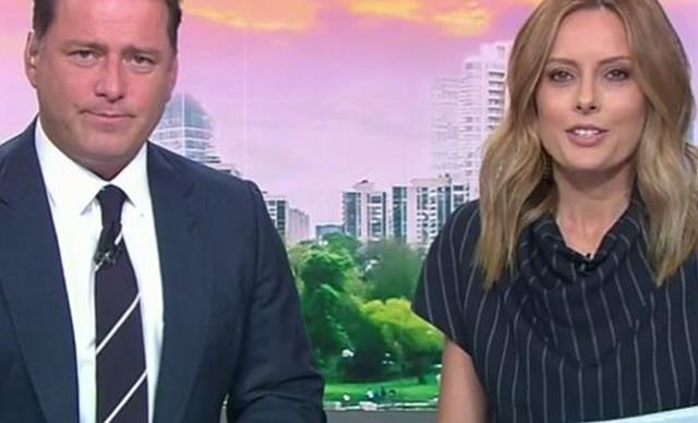Allison Langdon made a cheeky swipe at co-host Karl Stefanovic on the new Today Show
