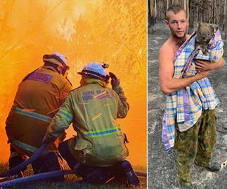 Brave volunteers and kind strangers: The unsung heroes of the devastating bushfires