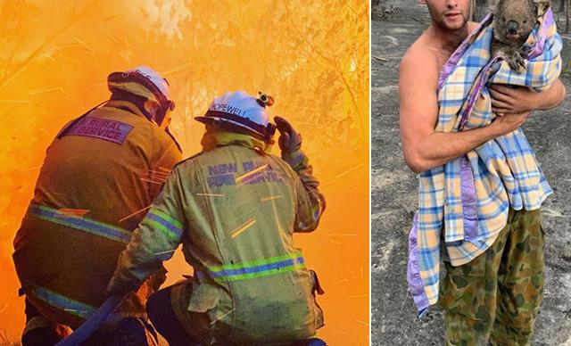Brave volunteers and kind strangers: The unsung heroes of the devastating bushfires
