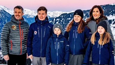 Gorgeous new pictures of Crown Princess Mary and her kids emerge as they officially move to Switzerland