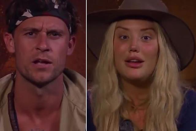 Could Charlotte Crosby and Ryan Gallagher be this year's hot I'm A Celeb couple?